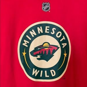 Reebok Shirts   Tops - Minnesota Wild tee edda438bd